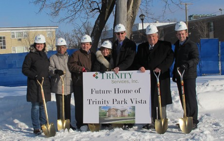Ground Breaking for Trinity Park Vista
