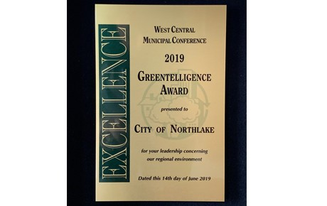 City Receives Award