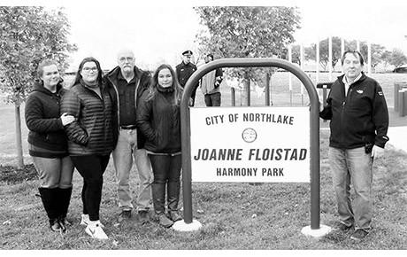 Joanne Floistad Harmony Park Dedicated
