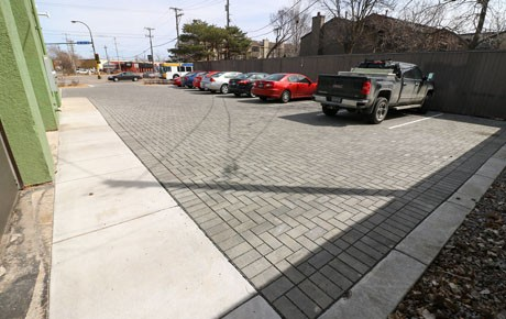 City Receives Grant for Permeable Paver Parking Lot